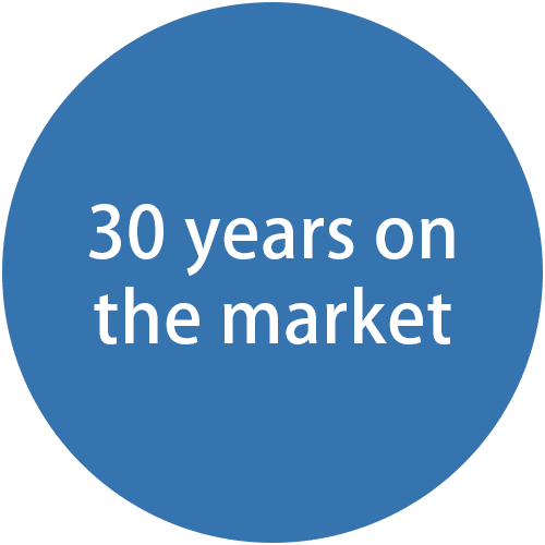 30 years on the market