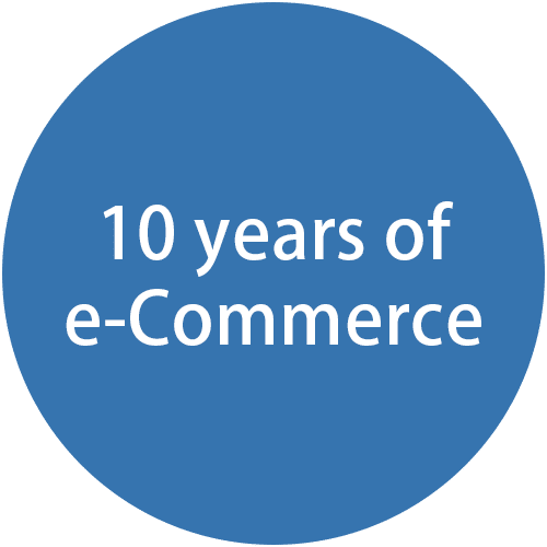 10 years of e-commerce