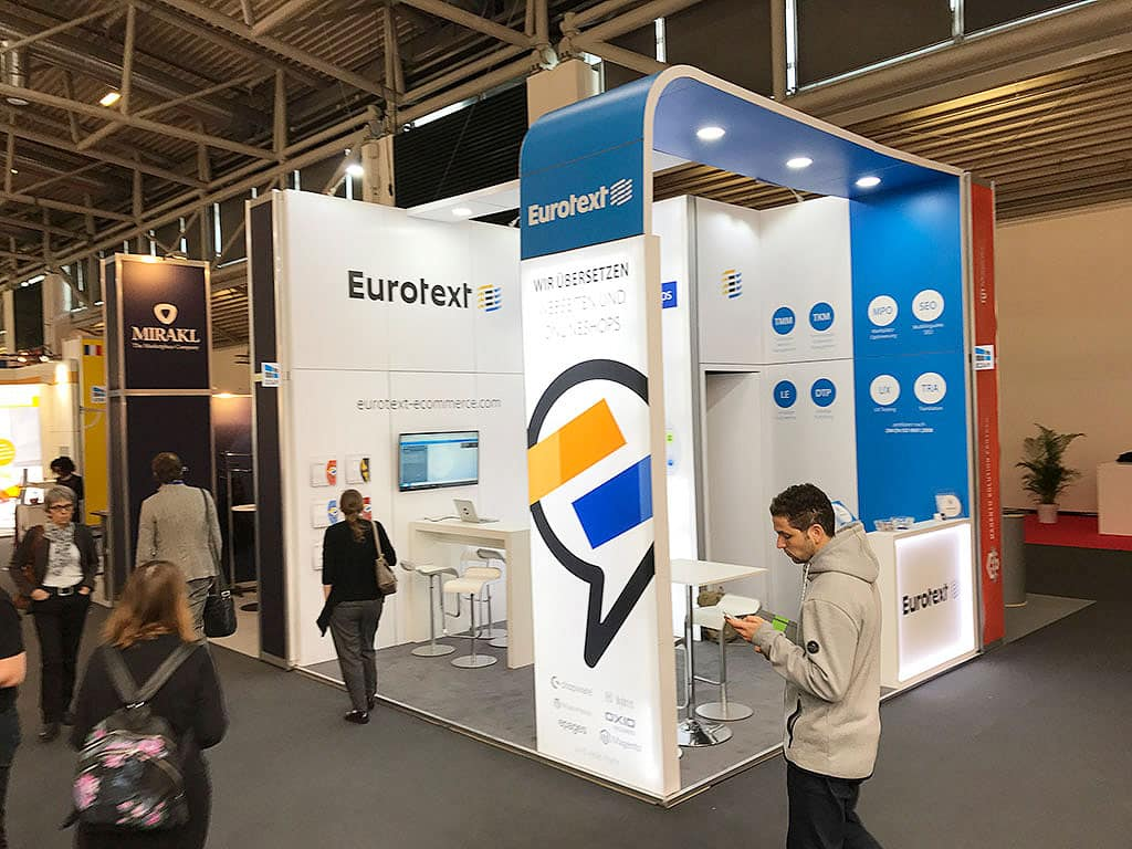 Eurotext auf der Internet World 2017