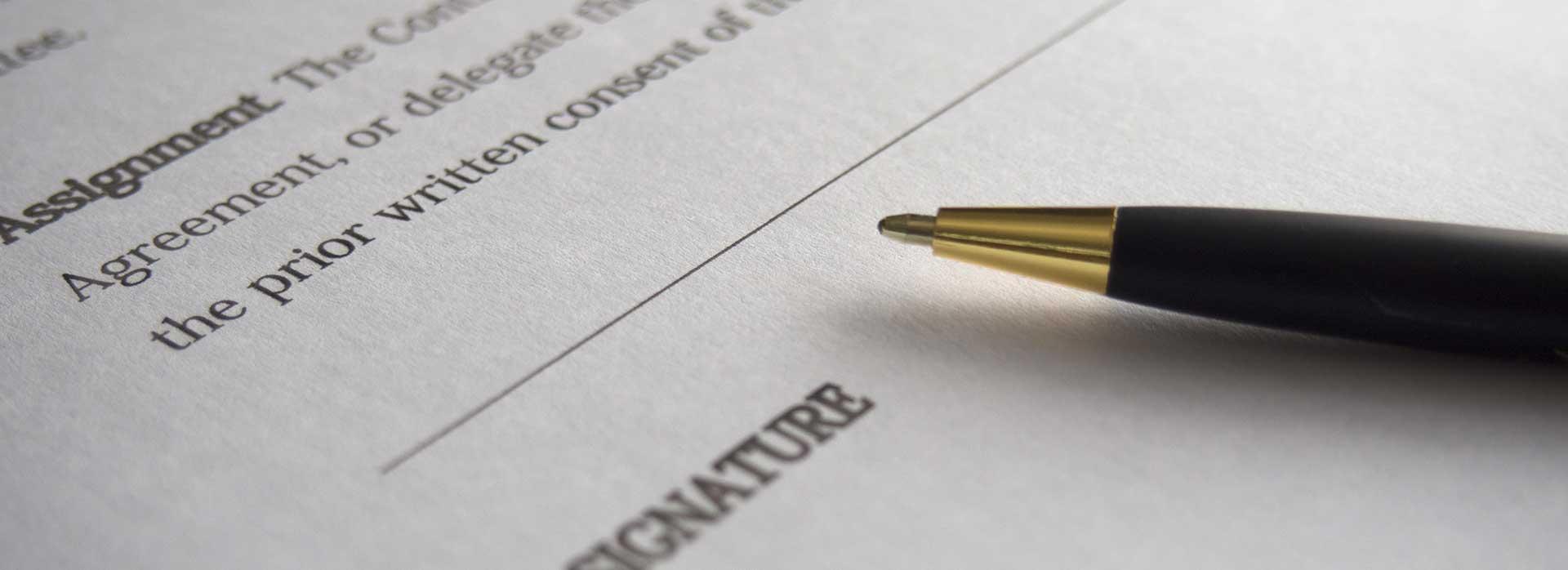 Beglaubigte Übersetzungen von Verträgen und anderen juristischen Dokumenten durch qualifizierte Übersetzer und Übersetzungsbüros