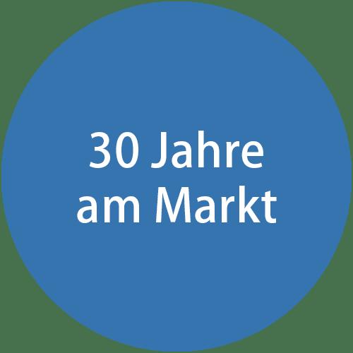 30 Jahre am Markt