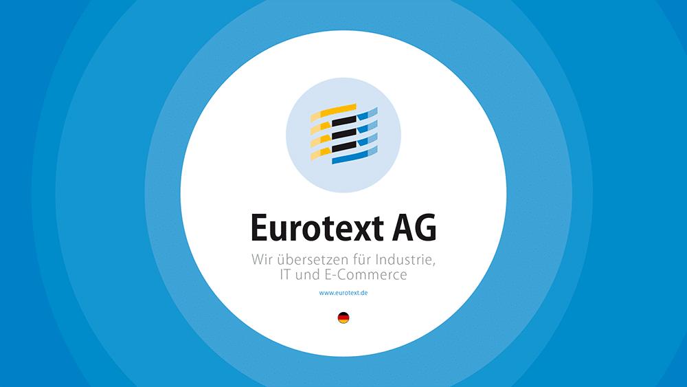 Unternehmensbroschüre Eurotext AG